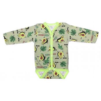 Теплый боди на кнопочках для младенцев, байка, 68 74 80 размеры