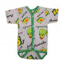 Боди футболка Авокадо Кулир 56 размеры для детей до года