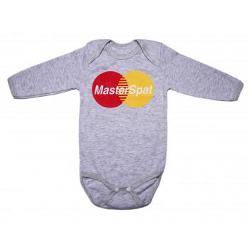 Боди MasterSpat Детское Серый Интерлок 74 80 размер