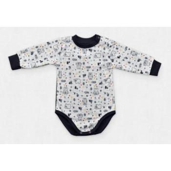 Теплый из ткани футер боди 98 размеры для малышей Норвегия