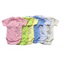 Летние боди для малышей Зайка (ткань рибана)