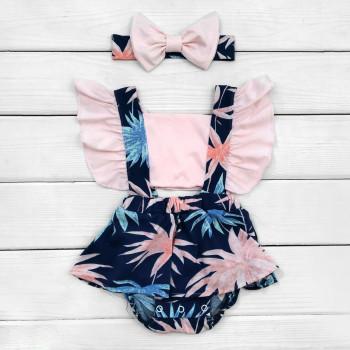 Детское боди-платье Пальма для девочек