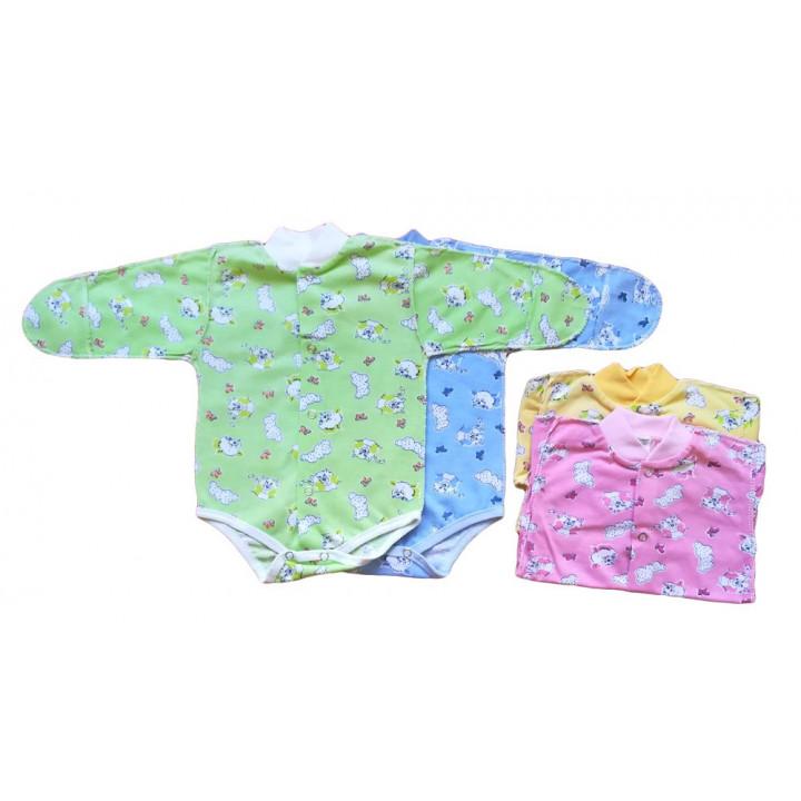 Летние боди из ткани кулир 56 62 размера для новорожденных