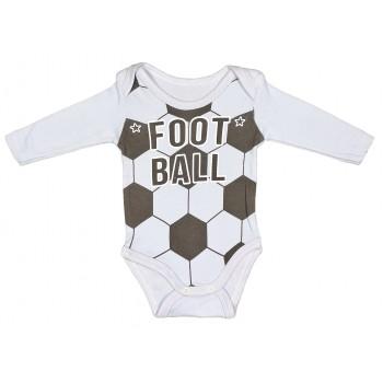 Футбольный боди для малышей от 1 месяца до 2-х лет (интерлок)