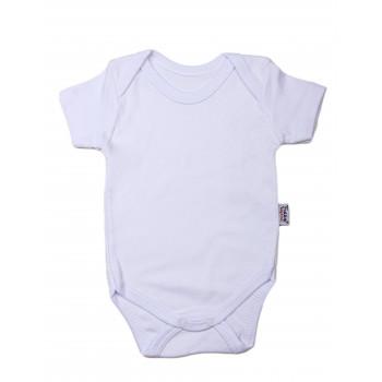 Детский белый боди футболка