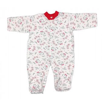 Теплый (ткань начес) человечек 50 56 размеры для новорожденных Моряк