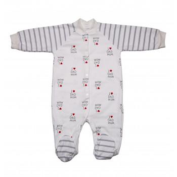 Человечки для малышей 68 74 80 размер Интерлок