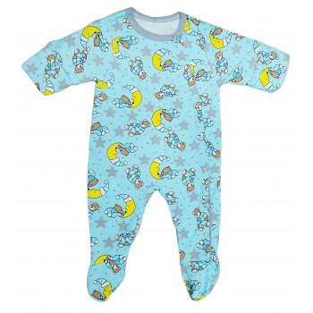 Человечек на мальчика 56 68 размер, ткань футер начес