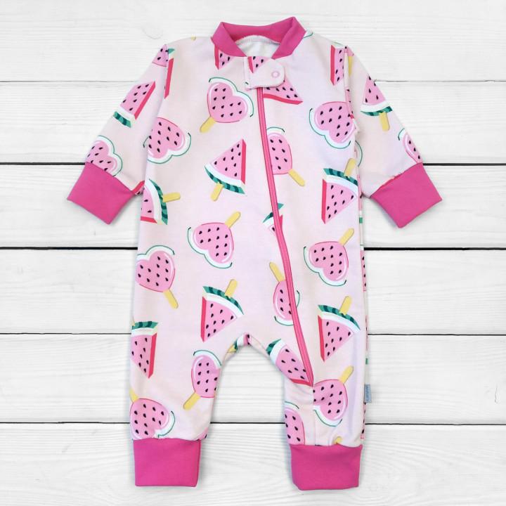 Детский теплый слип 68 80 86 92 размеры для детей до 2-х лет