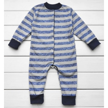 Теплый из футера полосатая слип пижама 86 92 размеры для мальчиков