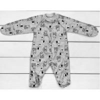 Человечек для малышей Друзья пошит из тонкой ткани интерлок. Размеры 56 62 68