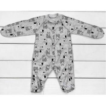 Человечек для малышей Друзья пошит из тонкой ткани интерлок. Размеры 56