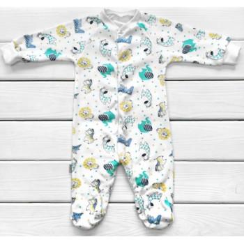 Человечек Саванна 68 размера Интерлок для малыша