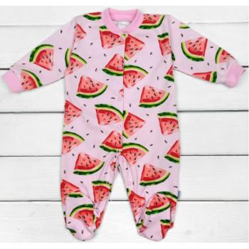 Человечек Розовый Арбузик Кулир Размеры 62 для девочек