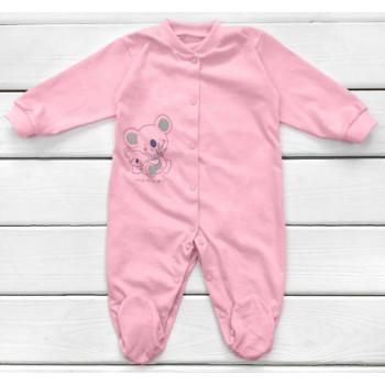 Человечек Розовый Кулир 62 68 размеры для девочек