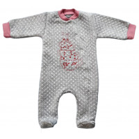 Человечек (ткань капитон) Зайка в чашке для малышей