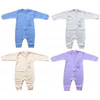 Летние слипы (ткань рибана) Зайка для малышей