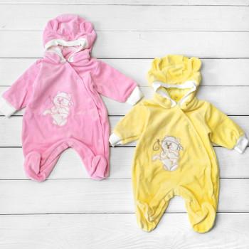 Велюровые комбинезоны 56 размера для новорожденных
