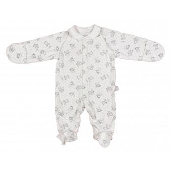 Человечки с царапками и наружными швами для новорожденных