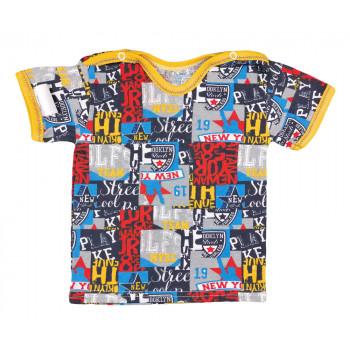 Уличная футболка на мальчика 1 годик