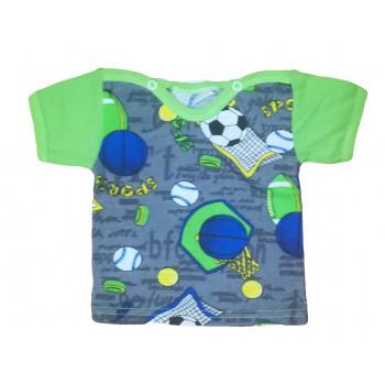 Футболка 62 размера для мальчиков на возраст от 1 месяца