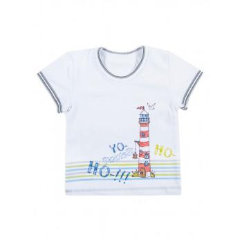 Детская футболка Пираты 80 92 размеры на мальчика 1-2 годика