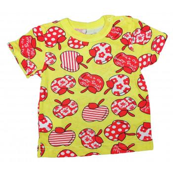 Детская футболка 104 размера с кнопочками на плече