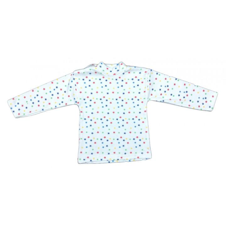 Гольфы детские из тонкой ткани интерлок Звездочки