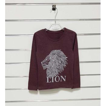 Летний Гольф Lion Бордовый Кулир 104 110 116 размеры на девочку 4 5 6 лет