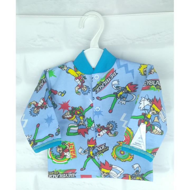 """Байковая детская кофта """"Бейблэйд"""" 56 размера для новорожденных"""