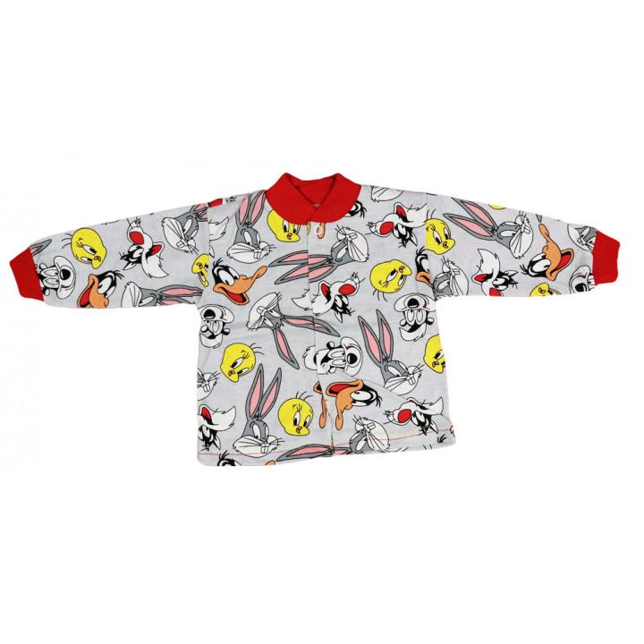 Летняя (ткань кулир) кофта для малышей