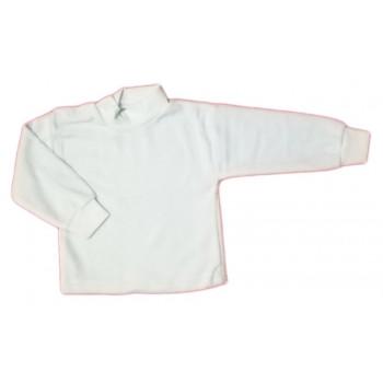 Детские белые велюровые гольфы 74 размера для малышей