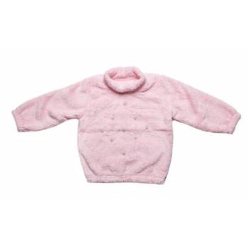 Розовая кофта Велсофт люрекс 86 98 110 116 122 размера на девочку 1,5-2-3-4-5-6-7 лет