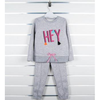 """Зимний (3-х нитка) комплект одежды """"Хей"""" на девочку 5 лет"""
