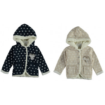 Зимние кофты с капюшоном для девочек 2 года 92 размер