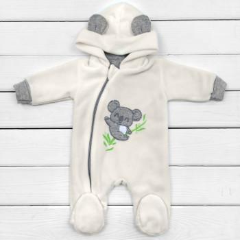 Комбинезон флисовый для новорожденных