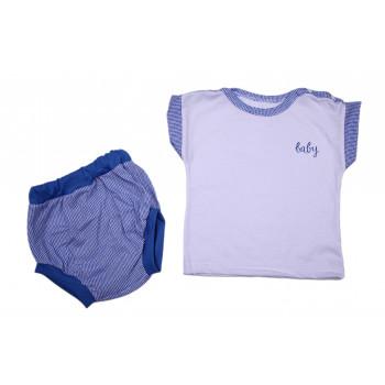 Футболка + трусики на памперс Baby 74  размер для мальчиков