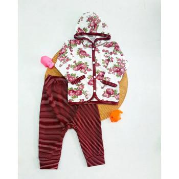 Комплект одежды Розы для девочек 68 74 80 86