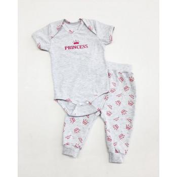 Комплект одежды Princess Кулир для девочек