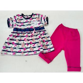 Платье + Лосины Интерлок 86 92 размеры