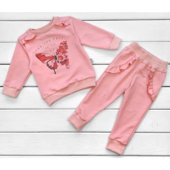 Костюм Бабочка Двунитка 98 110 размеры для девочек