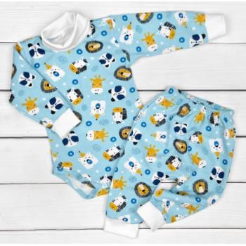 Комплект: боди и штаны Футер для младенцев от 3 до 12 месяцев