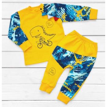 Комплект детской одежды 98 размер Футер на возраст мальчика  3 года