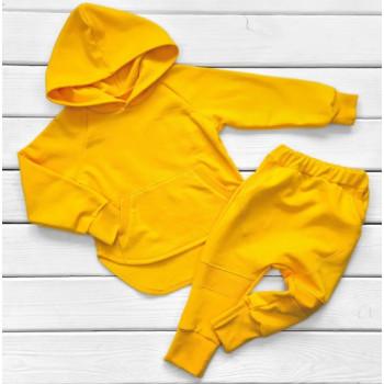 Детский костюм Футер 98 110 122 размеры Желтый