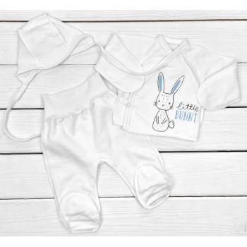 Комплект одежды Футер Размеры 50 56 в роддом для новорожденных мальчиков