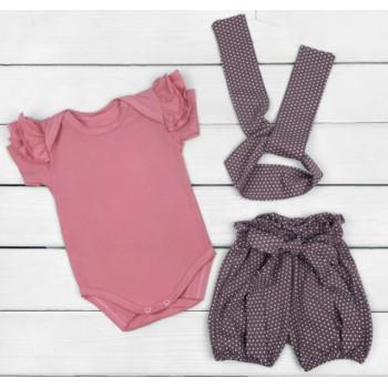 Набор одежды Горошик Кулир 86 размеры для девочек