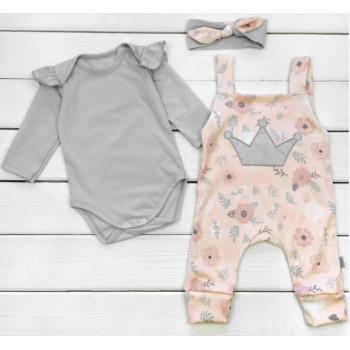 Комплект одежды Розы Интерлок Размеры 74 80 для девочек