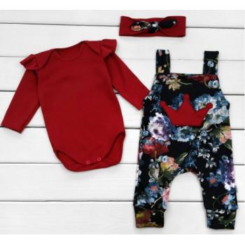 Комплект одежды Интерлок 68 80 86 размеры для девочек