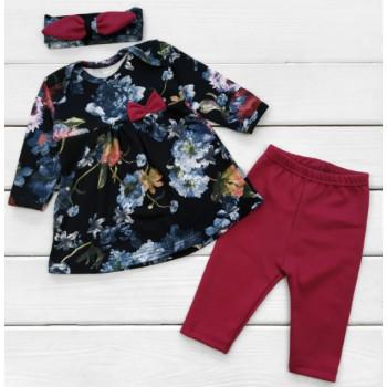 Комплект одежды Fashion Интерлок 62 68 74 80 размеры для девочек