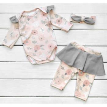 Комплект одежды Розы Интерлок 62 размеры для девочек